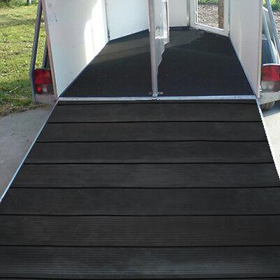 Pferdeanhänger Rampenmatte | Breite 1,75 x Länge 1,54 m