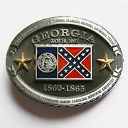 Georgia Belt Buckle
