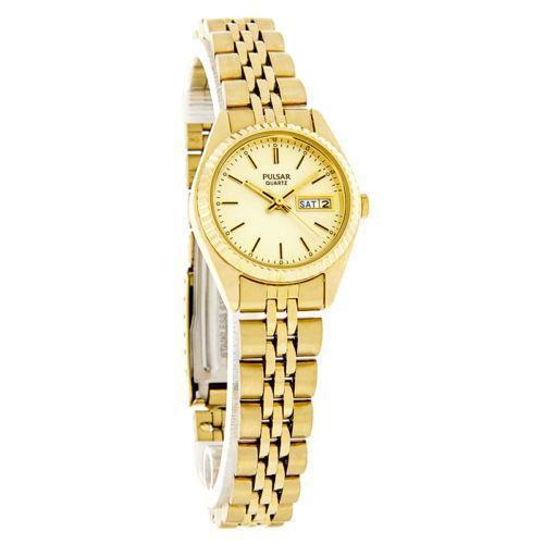 Pulsar Ladies Gold Watch | eBay
