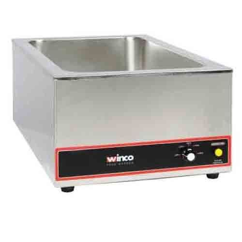 Winco FW-S500 Electric Food Warmer 1200W - Full Size