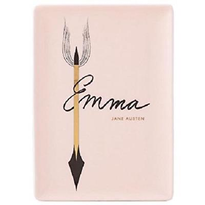LENOX ~ KATE SPADE A Way With Words ~ EMMA  Jane Austen Jewelry Vanity TRAY NIB