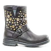 Damen Boots 39 Echt Leder