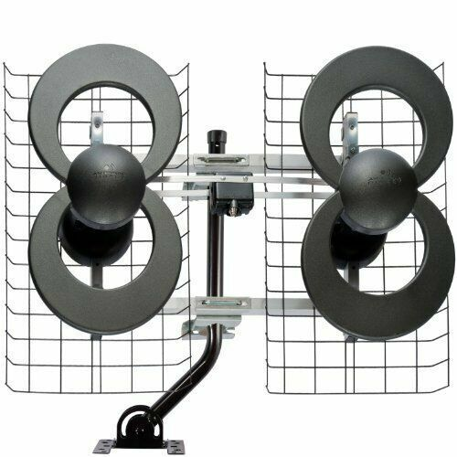 Antennas Direct - ClearStream 4MAX Indoor/Outdoor HDTV Antenna - Black