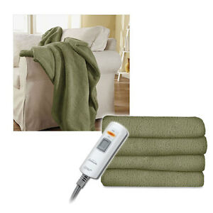 Sunbeam-Microtec-Ultra-Soft-Heated-Electric-Throw-Blanket-Sage-Green