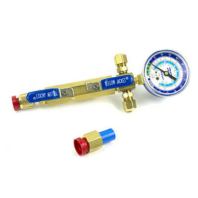 Yellow Jacket 93853 Two Valves W Lo-side Gauge Mount W 38 F Flare