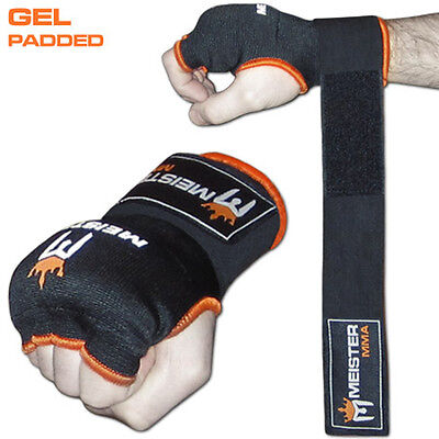 Wrapping Boxes (MEISTER GEL PADDED PROWRAPS Inner Hand Wrap Gloves - MMA Boxing Wrist Fight)