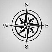 Compass Rose Decal