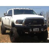 Ram 2500 Custom Bumper Wheel spacers