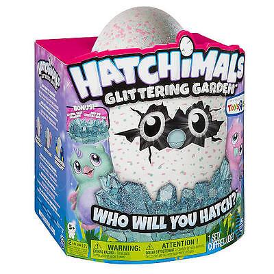 Hatchimals Glitter Owlicorn Glittering Garden Toysrus Exclusive 2017 Bonus Nest