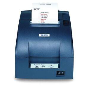 New Epson TM-U220B-767 Ethernet POS Printer Gray C31C514767 M188B w/Power Supply