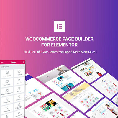 Woocommerce Page Builder For Elementor - Wordpress Plugins And Themes