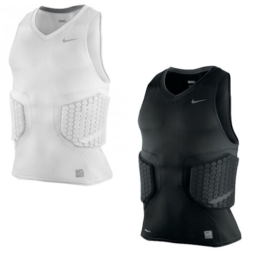 4a16ca69d Nike Pro Combat Vis-Deflex Basketball Padded Sleeveless Mens Top ...