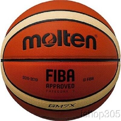 Molten Gm7x Fiba Approved Ind Out Basketball Official Size 7 Composite Leather
