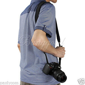 Adjusted Elastic Neoprene Neck Strap Nikon Canon Sony Pentax All SLR DSLR Camera
