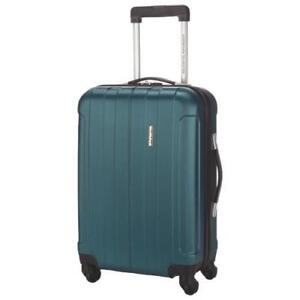 "American Tourister Galiano 20"" Hard Side  4-Wheeled Carry-On Luggage teal (new other)"