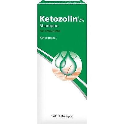 KETOZOLIN 2% Shampoo 120ml PZN 2837759