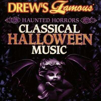 VARIOUS ARTISTS - HAUNTED HORRORS: CLASSICAL HALLOWEEN MUSIC NEW CD](Halloween Music 2017)