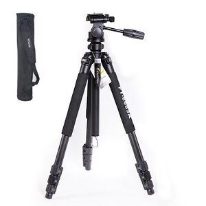 NEW Fancier FT-6663A camera Tripod + 3 way head + bag Tripods WEIFENG AU LOCAL