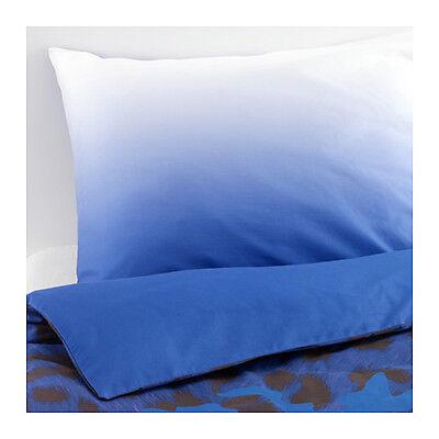 Ikea Giltig Single Quilt Cover & P'cases - Blue/Black 603.296.93 PLUS BONUS!