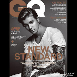 GQ Korea Magazine September 2015 Justin Bieber Wonder Girls
