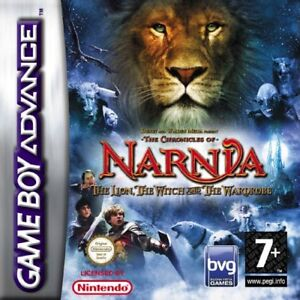 The Chronicles of Narnia - GBA Gameboy Advance  Game