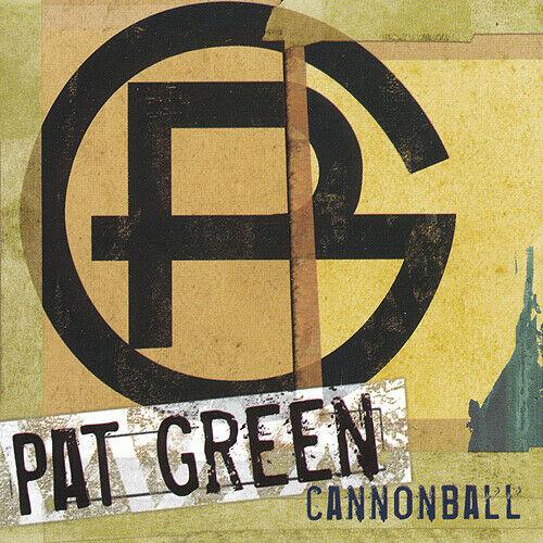 Pat Green Cannonball RARE promo sticker 2005