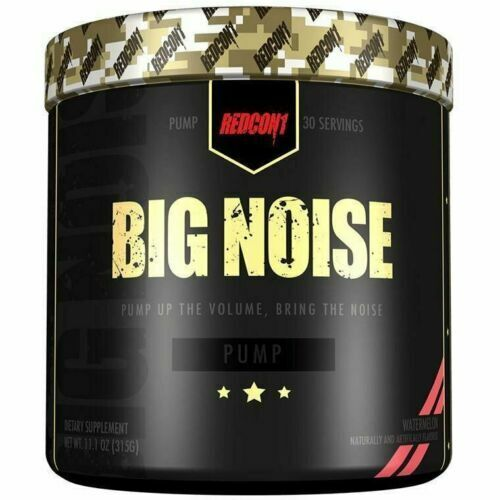 REDCON1 BIG NOISE 30 Servings N.O PUMP Formula Pre-workout ALL FLAVORS FREE SHIP 1