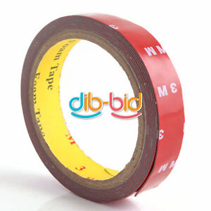 Professional-3M-Auto-Acrylic-Foam-Double-Two-Sided-Attachment-Tape-20mm