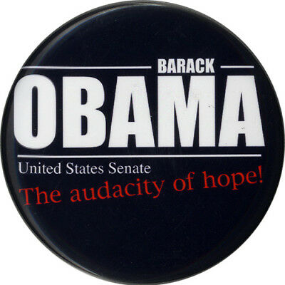 2004 Barack Obama Illinois U S  Senate Campaign Button  5289