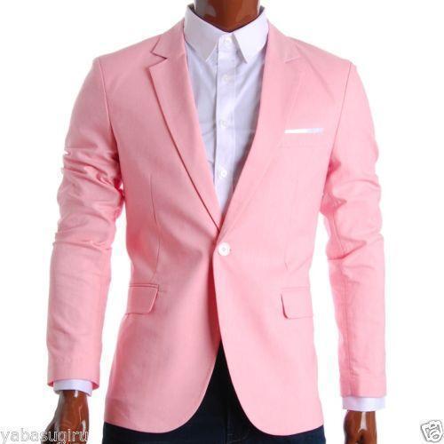 Mens Pink Blazer | eBay