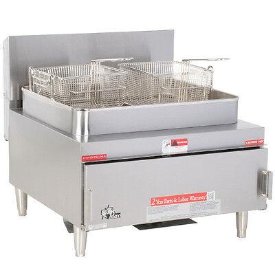 Star 630ff Star-max Gas 30 Lb Capacity Countertop Fryer