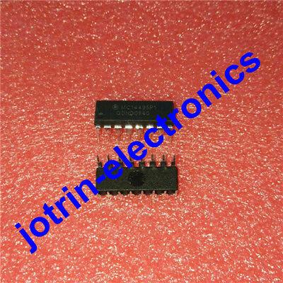 5 Pcs Mc14495p1 Dip-16 Hexadecimal-to-seven Segment Latchdecoder Led Driver