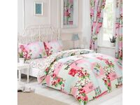 Bedsets - room in a bag (duvet cover, pillow cover, curtains and tieback and fitted sheet)