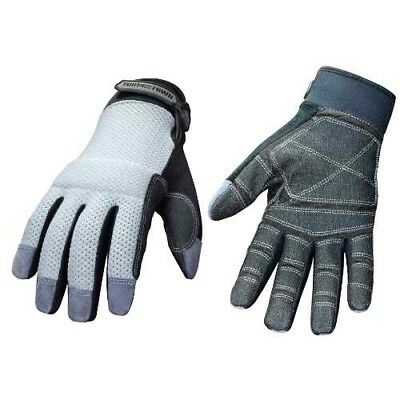 Youngstown Glove 04-3070-70-l Mesh Utility Plus Performance Glove Large Gray