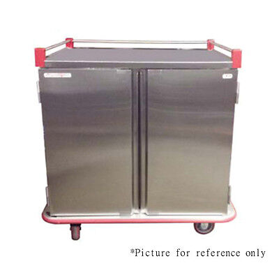 Patient Tray Cart - Carter-Hoffmann PTDTT28 Performance Patient Tray Cart with Double Compartments