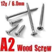 Stainless Steel Woodscrews