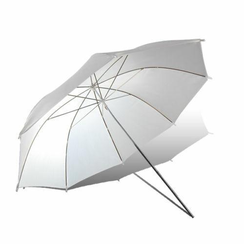 "33"" Soft White Umbrella Photo Studio Translucent Light Softbox Diffuser Shoot US"