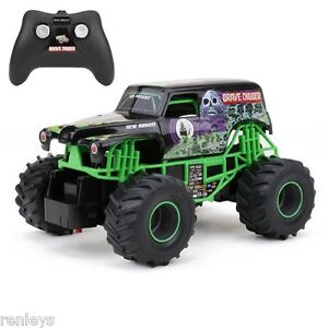 Grave-Digger-RC-Remote-Control-Truck-Monster-Jam-Toy ...