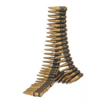 Armee Kugel Gürtel 150cm Militär Kostüm Verkleidung Zubehör 96 Kugeln