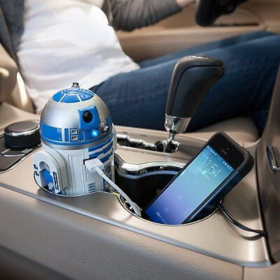 Star Wars R2-D2 USB Car Charger For iPhone iPad Andoroid Officially Licensed