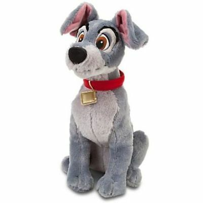 "Disney Store Lady & the Tramp - 16""  TRAMP Plush Soft Toy Dog"