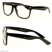 Wayfarer Sunglasses Clear Lens