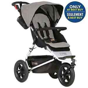 New Mountain Buggy Urban Jungle jogging stroller