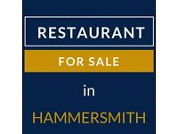 Restaurant for Sale in Hammersmith (Price REDUCED)
