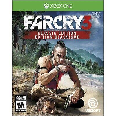 Far Cry 3 Classic Edition (Microsoft Xbox One) Brand New comprar usado  Enviando para Brazil