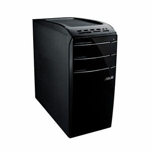 Desktop computer with solid state hard drive..