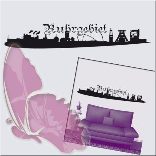 wandtattoo ruhrpott wandtattoos wandbilder ebay. Black Bedroom Furniture Sets. Home Design Ideas