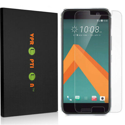 2X VPROPTION Tempered Window-pane Screen Protector Saver Shield for HTC 10 / M10