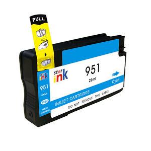 Chipped-per-HP-951XL-ciano-cartuccia-di-Inchiostro-per-Stampanti