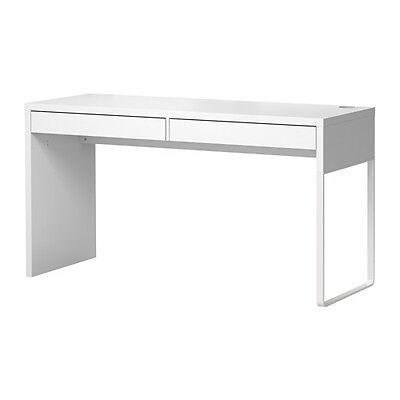 Ikea Micke Desk Computer Workstation Table White Modern New